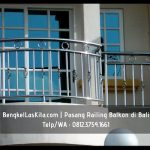 Vendor Railing Balkon Kaca Tempered di Sawan Bali